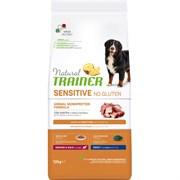 Trainer - Сухой корм для взрослых собак средних и крупных пород (с уткой) Natural Sensitive No Gluten Medium/Maxi Adult Duck and Rice