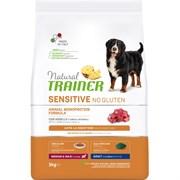 Trainer - Сухой корм для взрослых собак средних и крупных пород (с ягненком) Natural Sensitive No Gluten Medium/Maxi Adult Lamb
