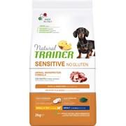 Trainer - Сухой корм для взрослых собак мелких пород без глютена (с уткой) Natural SENSITIVE