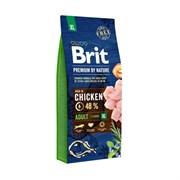 Brit - Сухой корм для взрослых собак гигантских пород Premium Adult XL