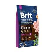 Brit - Сухой корм для взрослых собак мелких пород Premium Adult S
