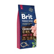 Brit - Сухой корм для молодых собак крупных пород Premium Junior L