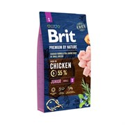 Brit - Сухой корм для молодых собак мелких пород Premium Junior S