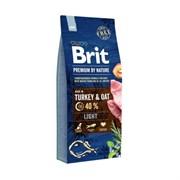 Brit - Сухой корм для собак, склонных к полноте Premium Light