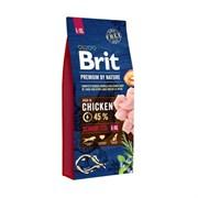 Brit - Сухой корм для пожилых собак крупных пород Premium Senior L