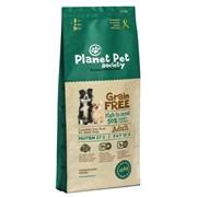 Planet Pet - Сухой корм беззерновой для взрослых собак всех пород (с ягненком и картофелем) Grain Free Lamb & Potato For Adult Dogs