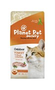 Planet Pet - Сухой корм для взрослых активных кошек (с индейкой) Outdoor Turkey