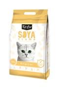 Kit Cat - Наполнитель комкующийся соевый биоразлагаемый SoyaClump Soybean Litter Original