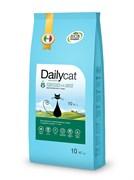 Dailycat - Сухой корм для взрослых стерилизованных кошек (с курицей и рисом) Adult Steri lite Chicken and Rice