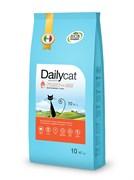 Dailycat - Сухой корм для взрослых кошек для вывода шерсти (с индейкой и рисом) Adult Hairball Turkey and Rice