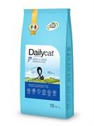 Dailycat - Сухой корм для взрослых привередливых кошек (с сельдью, лососем и рисом) Adult Exi Care Fish and Rice