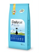 Dailycat - Сухой корм для взрослых стерилизованных кошек (с рыбой и рисом) Adult Steri Lite Fish and Rice