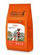 Dailycat - Сухой корм для взрослых стерилизованных кошек (с индейкой) Casual Line Adult Steri Lite Turkey