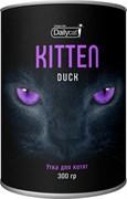 Dailycat - Сухой корм для котят (с уткой) Unique line Kitten