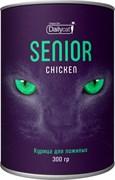 Dailycat - Сухой корм для пожилых кошек (с курицей) Unique line Senior