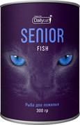 Dailycat - Сухой корм для пожилых кошек (с рыбой) Unique line Senior