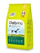 Dailydog - Сухой корм для взрослых собак крупных пород (с курицей и рисом) Adult Large Breed Chicken and Rice