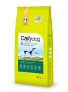 Dailydog - Сухой корм для взрослых собак средних пород (с курицей и рисом) Adult Medium Breed Chicken and Rice