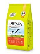 Dailydog - Сухой корм для взрослых собак средних и крупных пород (с индейкой и рисом) Adult Medium Large Breed Turkey and Rice