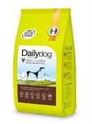 Dailydog - Сухой корм для взрослых собак средних и крупных пород (с олениной и кукурузой) Adult Medium Large Breed Deer and Maize