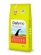 Dailydog - Сухой корм для пожилых собак средних и крупных пород (с индейкой и рисом) Senior Medium Large Breed Turkey and Rice