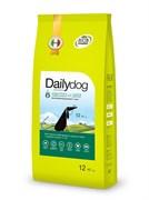 Dailydog - Сухой корм для пожилых собак средних и крупных пород (с курицей и рисом) Senior Medium Large Breed Chicken and Rice