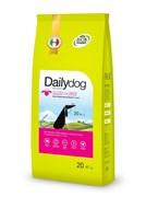 Dailydog - Сухой корм для пожилых собак средних и крупных пород (с ягненком и рисом) Senior Medium Large Breed Lamb and Rice