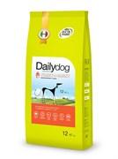 Dailydog - Сухой корм для взрослых собак мелких пород (с индейкой и ячменем) Adult Small Breed Turkey and Barley