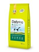 Dailydog - Сухой корм для взрослых активных собак всех пород (с курицей и рисом) Adult High Energy Chicken and Rice