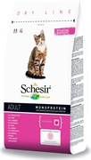 Schesir - Сухой корм для кошек (ветчина)