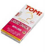 Tomi - Лакомство-соус для кошек 10шт х 10г (печень) + биотин