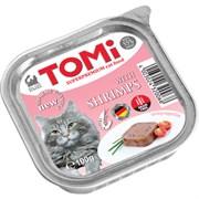 Tomi - Консервы для кошек (с креветками)