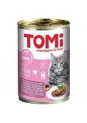 Tomi - Консервы для кошек (телятина)