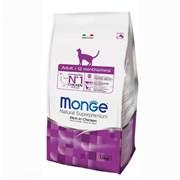 Monge - Сухой корм для домашних кошек (курица) Cat Indoor