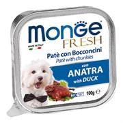Monge - Консервы для собак (утка) Dog Fresh