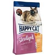 Happy Cat - Сухой корм для стерилизованных кошек (с лососем) Adult Sterilised Atlantik Lachs