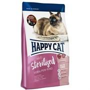 Happy Cat - Сухой корм для стерилизованных кошек (с говядиной) Adult Sterilised Voralpen Rind