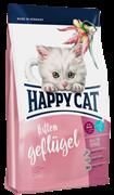 Happy Cat - Сухой корм для котят (птица и лосось) Kitten