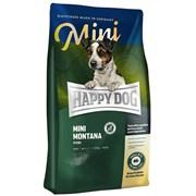 Happy Dog - Сухой корм для взрослых собак мелких пород при пищевой аллергии и чувствительном пищеварении (с кониной) Supreme Sensible Mini Mоntana