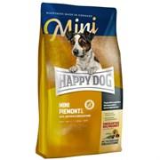 Happy Dog - Сухой корм Supreme для собак мелких пород при пищевой аллергии и чувствительном пищеварении (с уткой, морской рыбой и каштаном) Sensible Mini Piemonte