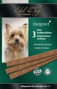 Edel Dog - Лакомство для собак (колбаски с зайцем и печенью)