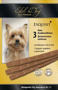 Edel Dog - Лакомство для собак (колбаски с курицей и индейкой)