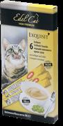 Edel Cat - Крем-суп для кошек (с птицей и печенью) 6шт х 15г