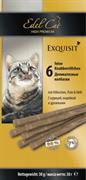 Edel Cat - Лакомство для кошек (колбаски с курицей и индейкой)