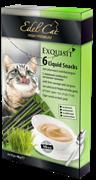 Edel Cat - Крем-суп для кошек (ливерная колбаса и луговые травы) 6шт х 15г