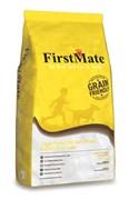 FirstMate - Сухой низкозерновой корм для щенков и собак всех пород (с курицей и овсом) Cage Free Chicken Meal & Oats