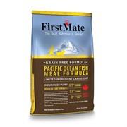 FirstMate - Сухой беззерновой корм для щенков и активных собак всех пород (с рыбой) Pacific Ocean Fish Meal Endurance/Puppy