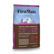 FirstMate - Сухой беззерновой корм для пожилых собак и собак, склонных к ожирению (с рыбой) Pacific Ocean Fish Meal Weight Control