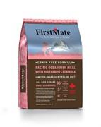 FirstMate - Сухой беззерновой корм для котят и кошек (с рыбой и голубикой) Pacific Ocean Fish Meal With Blueberries