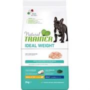 Trainer - Сухой корм для взрослых собак мелких пород, склонных к набору лишнего веса (с белым мясом) Ideal Weight Mini - White Meat